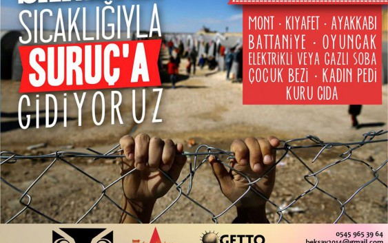 Kobane halklarıyla dayanışmak için Suruç'a gidiyoruz